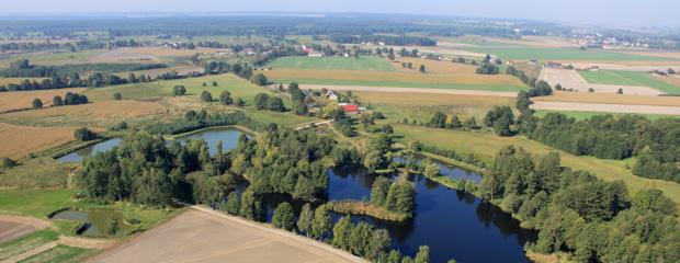 Zdjęcie z lotu ptaka - okolice Domaszowic